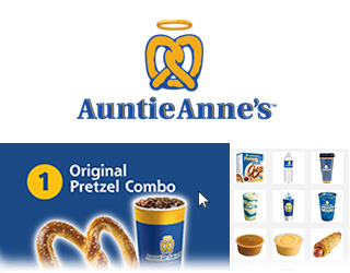 Auntie Anne's Menu Builder